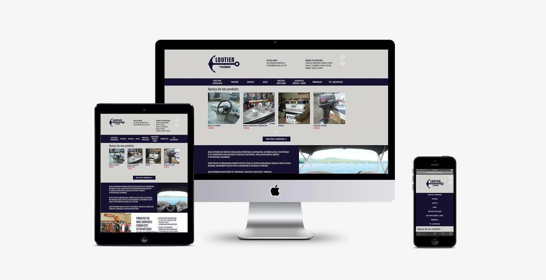 Site Web – Cloutier St-Raymond - Empreinte Studio
