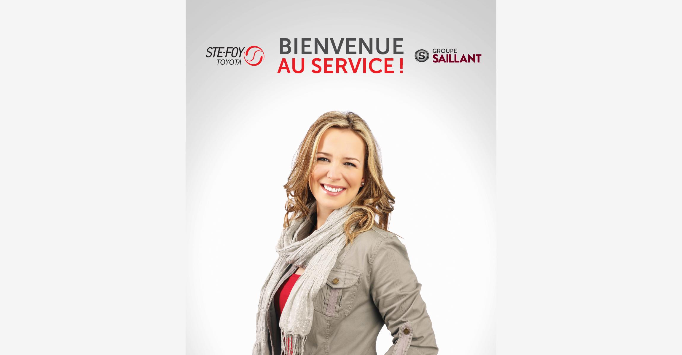 Affiche – Service Ste-Foy Toyota - Empreinte Studio